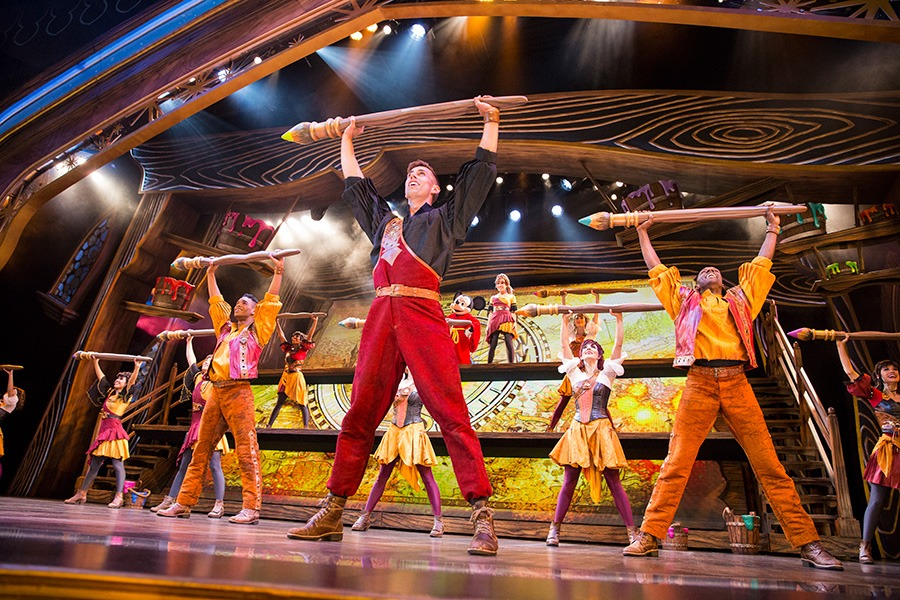 Professional dancers in the Disney Parks