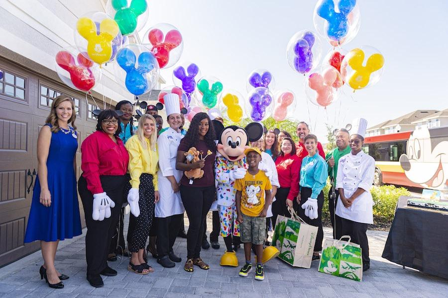 Six-year-old Jermaine BellSurprised with Dream Walt Disney World Trip