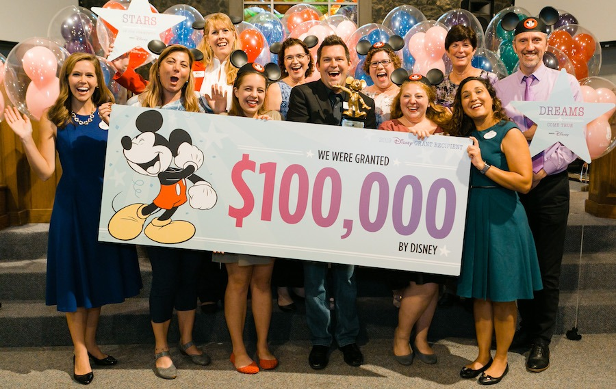 Disney serenades Central Florida Community Arts with surprise $100,000 donation to help bring arts program to deserving youth