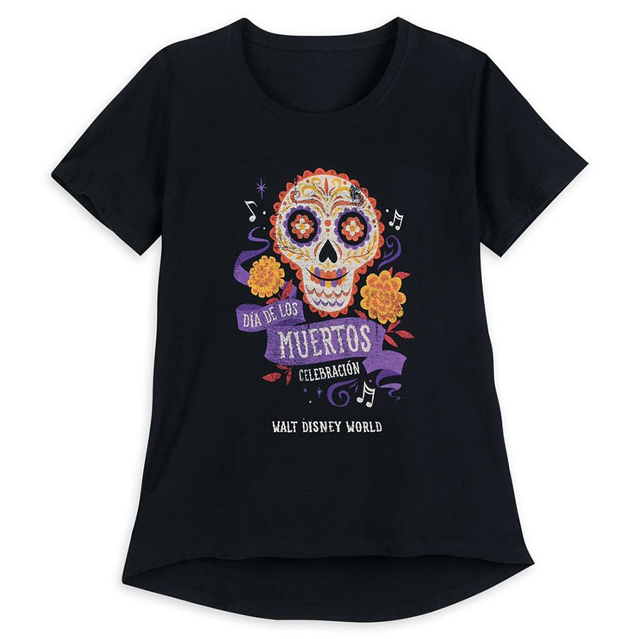 Dias de los Muertos T--Shirt -- Walt Disney World Resort