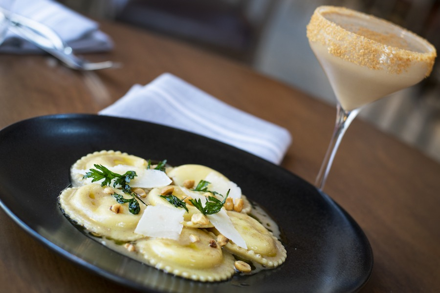 Pumpkin Ravioli from Wolfgang Puck Bar & Grill for WonderFall Flavors at Disney Springs 2019