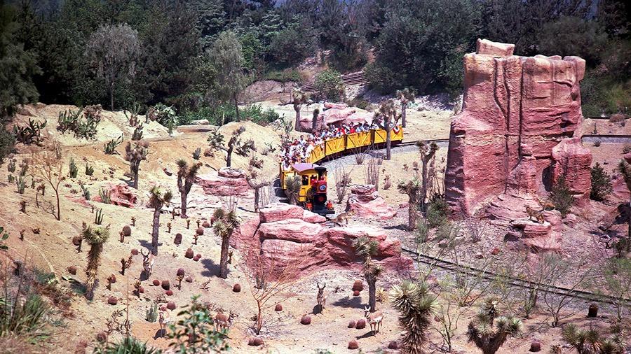 Big Thunder Mountain Railroad at Disneyland park
