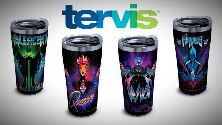 New Disney Villains Tervis Tumblers! 1
