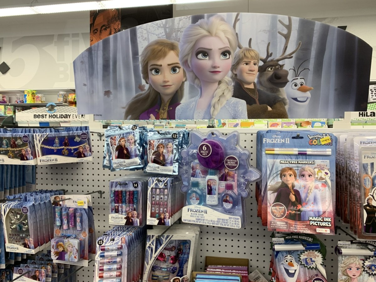 New Frozen 2 Merchandise at Five Below! #Frozen2 4