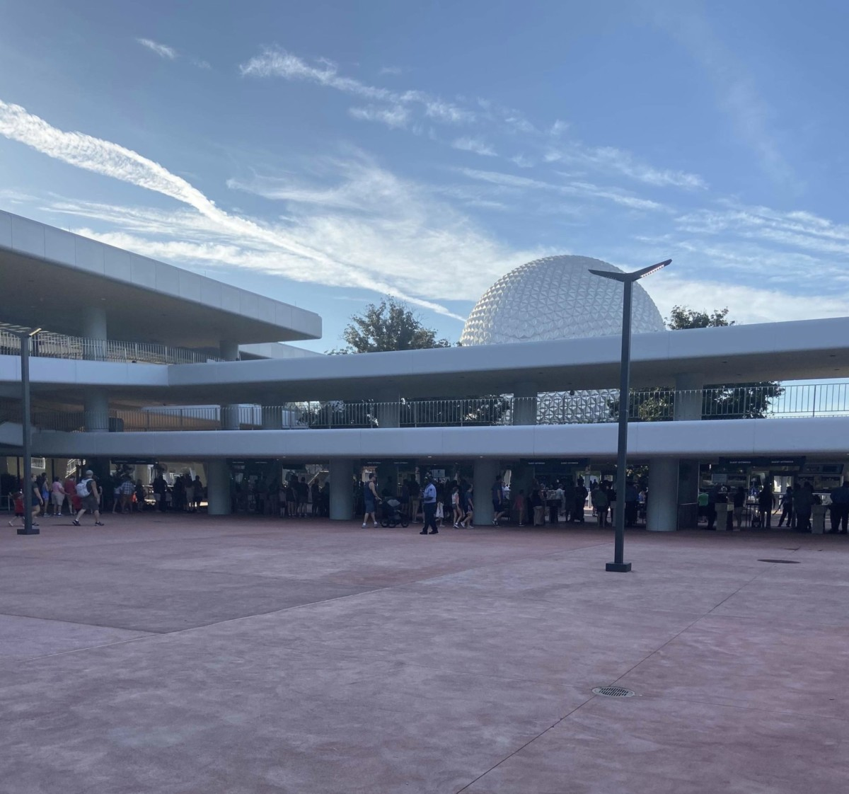 New Security Bag Check Area at Epcot! 1