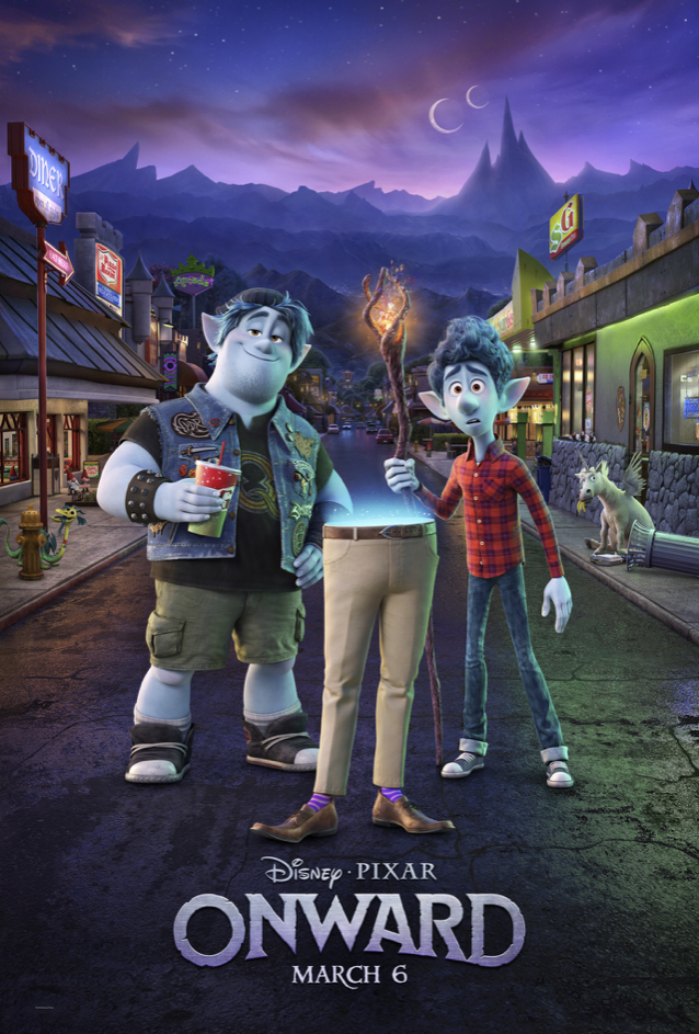 """Disney and Pixar's """"Onward"""" New Trailer Now Available 1"""