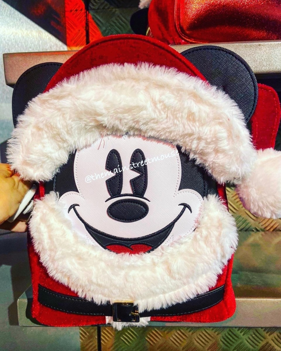 New Christmas Loungefly Backpacks & Mote! #disneyholidays 10
