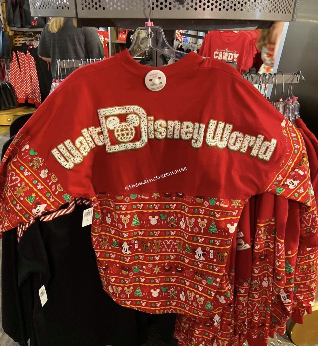 More New Holiday Spirit Jerseys and More now at WDW! #DisneyHolidays 1
