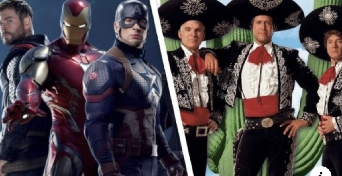 Chris Hemsworth Wants to Remake Three Amigos With Chris Evans and Robert Downey Jr. 1