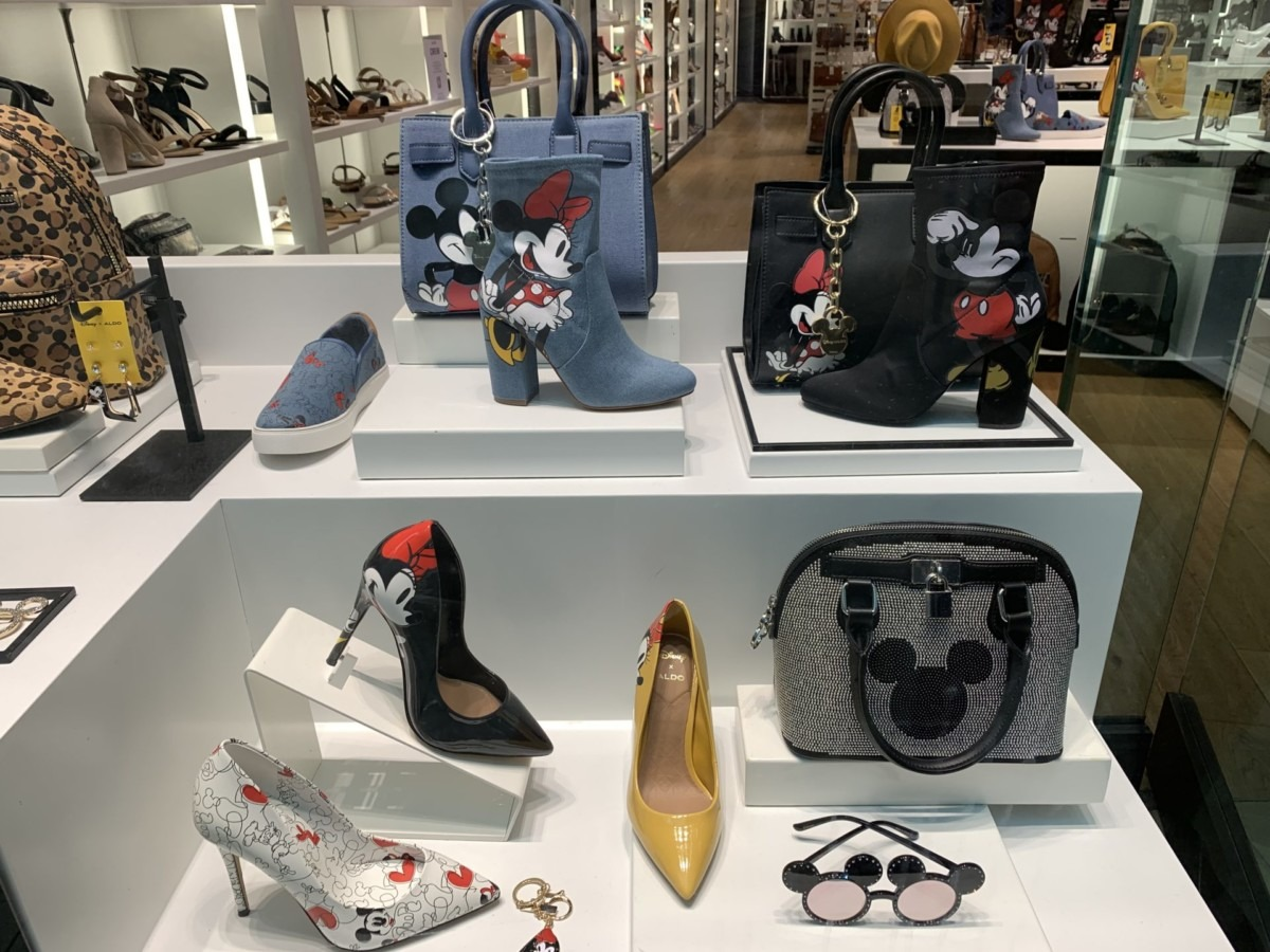Aldo's New Mickey and Minnie Inspired Shoes and Accessories 1
