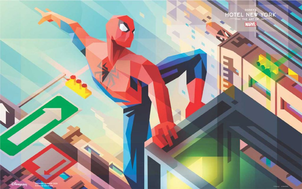 artist Liam Brazier's artwork featuring the one and only Spider-Man