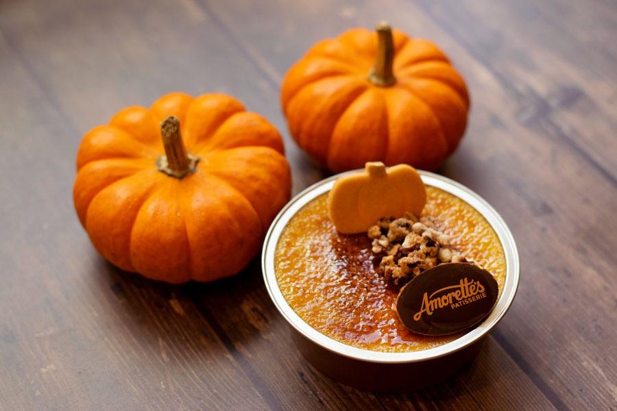Pumpkin Creme Brûlée from Amorette's Patisserie
