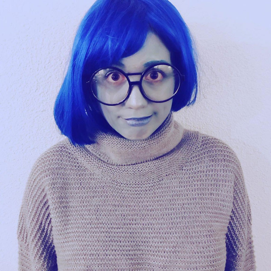 "Sadness from ""Inside Out"" costume"