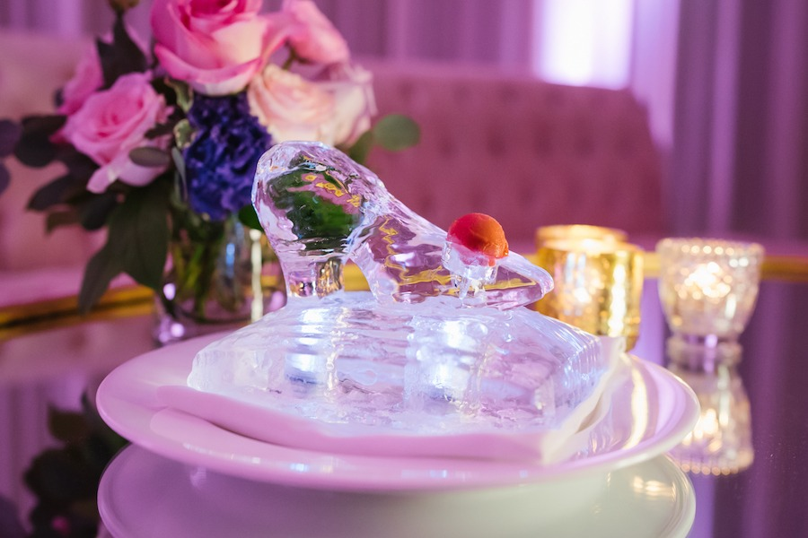 Glass Slipper at a Disney Fairytale Wedding