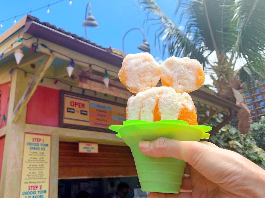 Pumpkin Spice Shave Ice