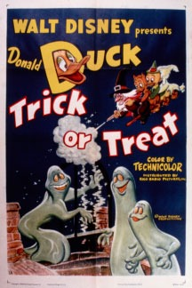 1952 Donald Duck cartoon Trick or Treat