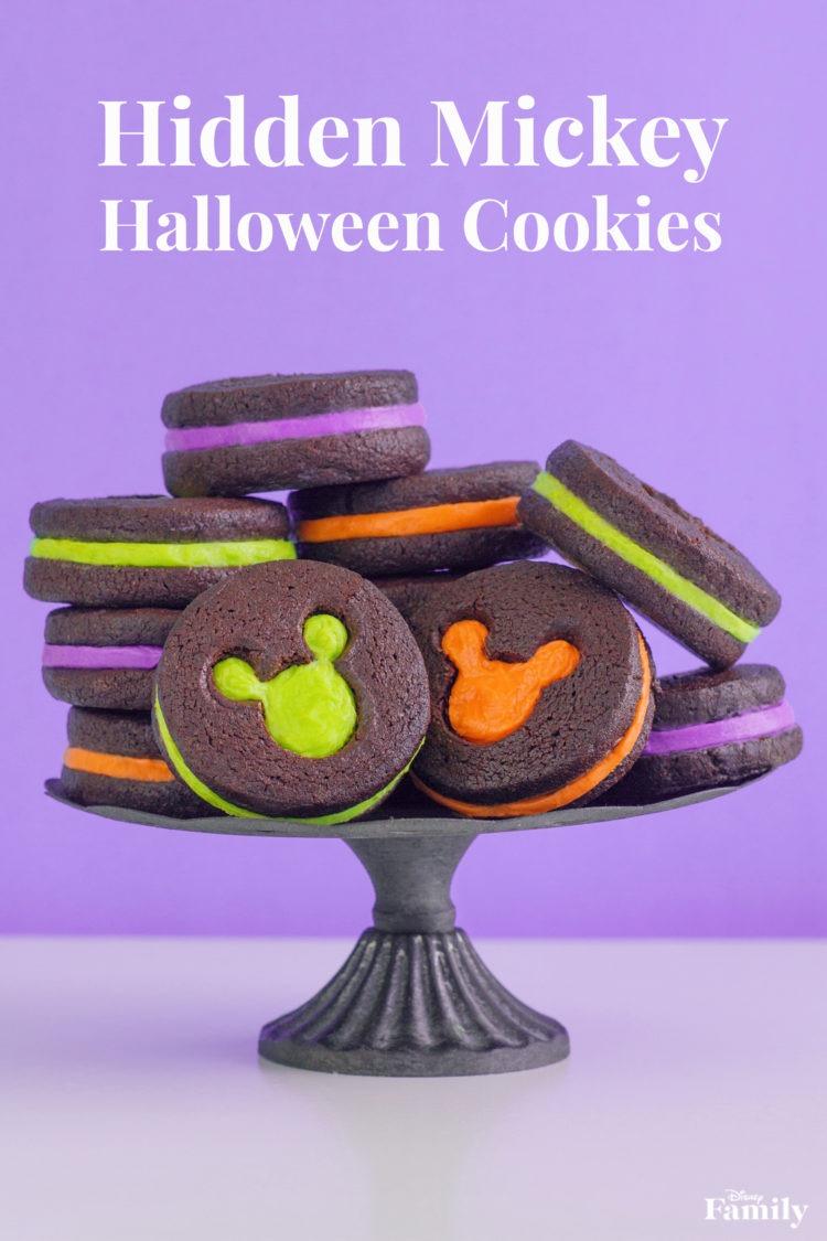 Hidden Mickey Halloween Cookies, Recipe! 1