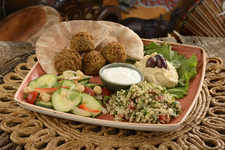 Marrakesh Falafel Platter from The Mara at Disney's Animal Kingdom Lodge