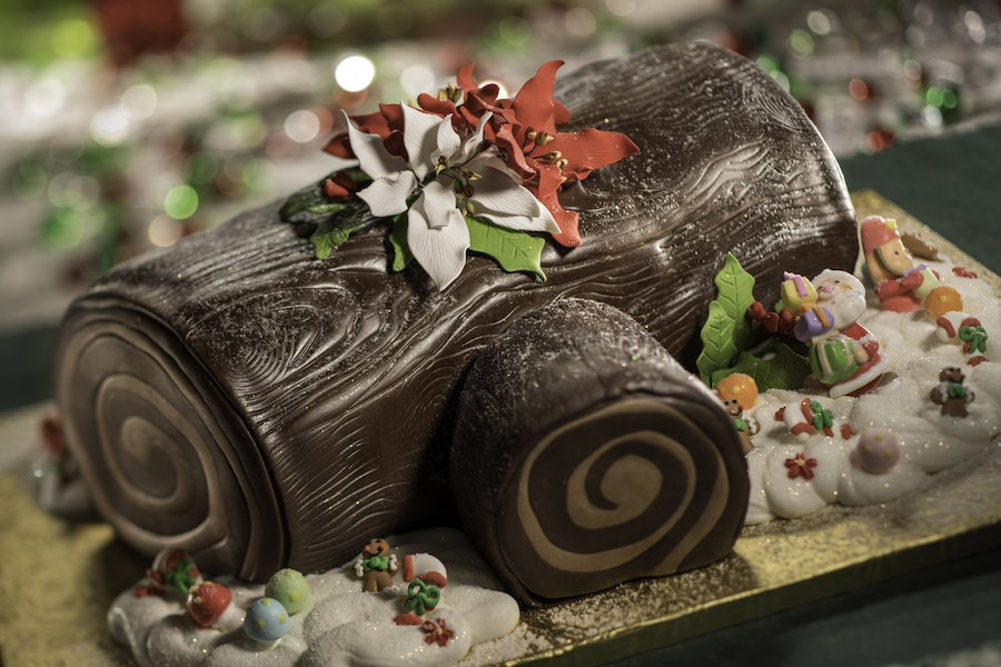 Yule Log at the Jingle Bell, Jingle BAM! Dessert Party at Disney's Hollywood Studios