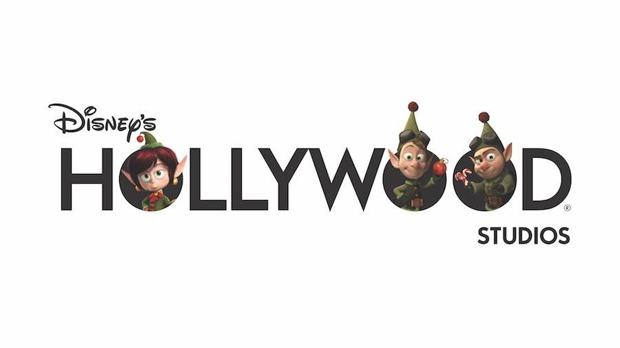 Disney's Hollywood Studios Holiday Logo