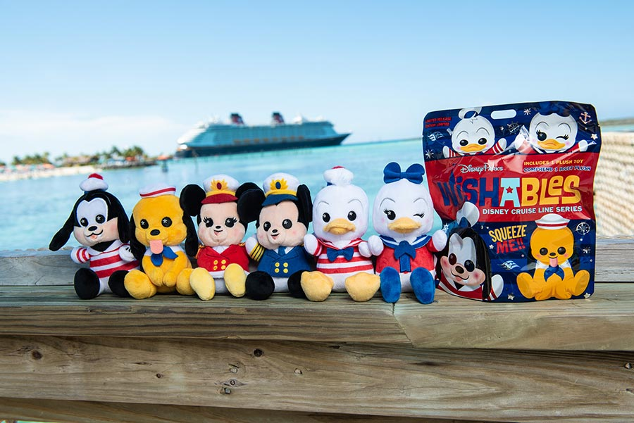The newest Disney Cruise Line Wishables collection