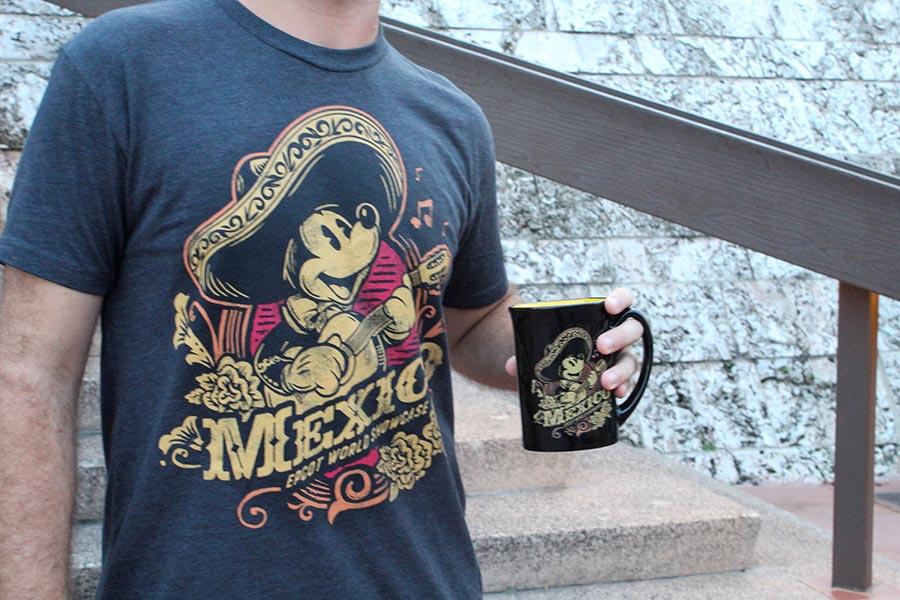 Mickey Mouse t-shirt and mug