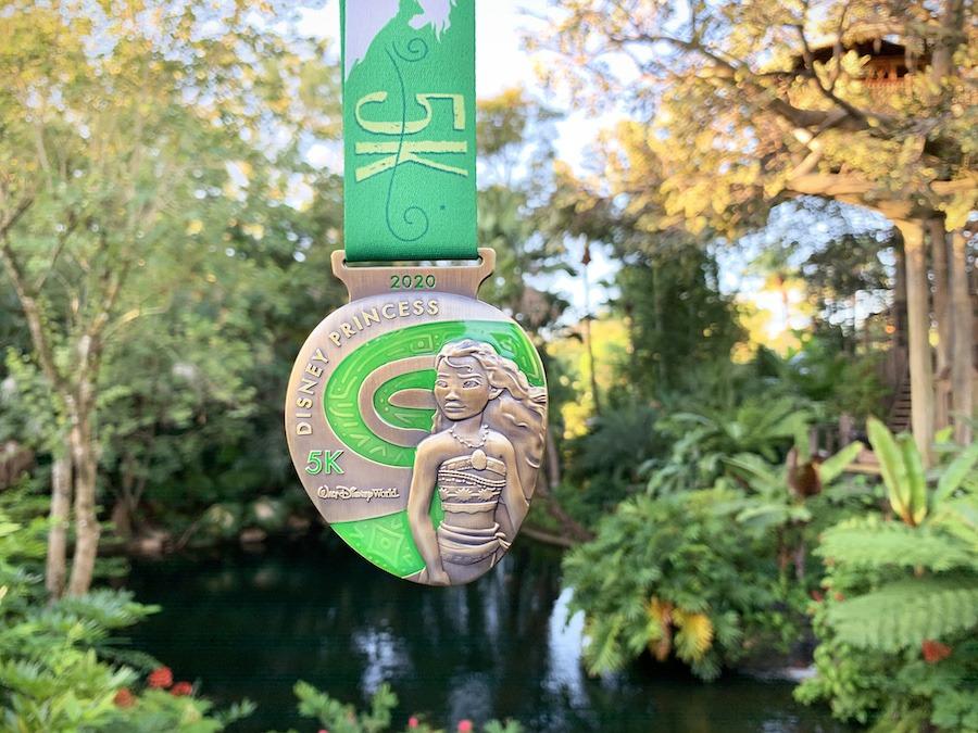 5k 2020 Disney Princess Half Marathon Weekend Medal