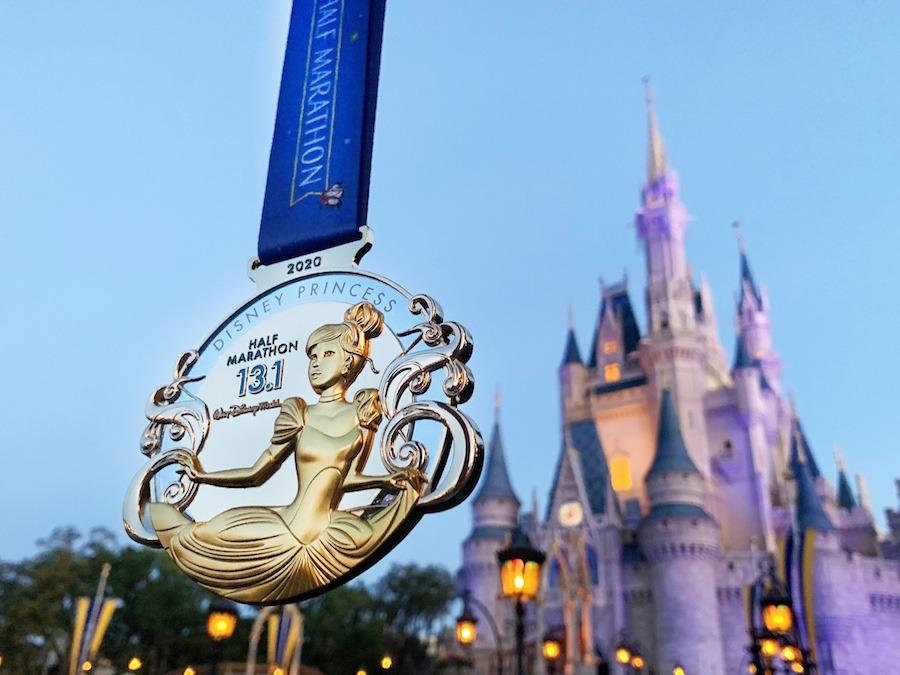 2020 Half Marathon Weekend Medal