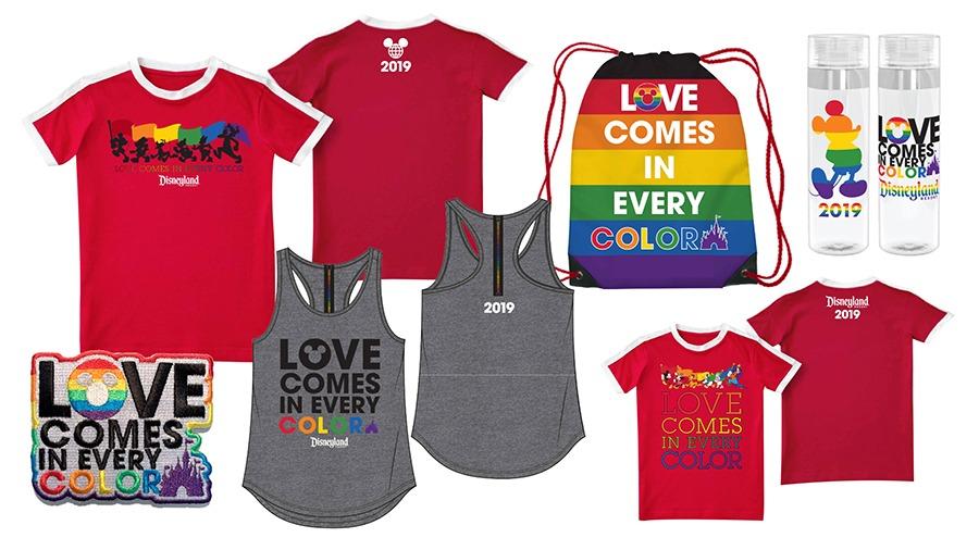 Limited-Time Rainbow Merchandise at Disneyland Resort