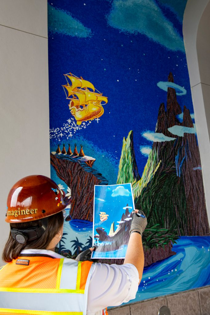 Mosaics in the Making at Disney's Riviera Resort