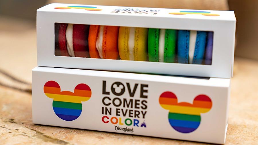 Rainbow Macaron Box