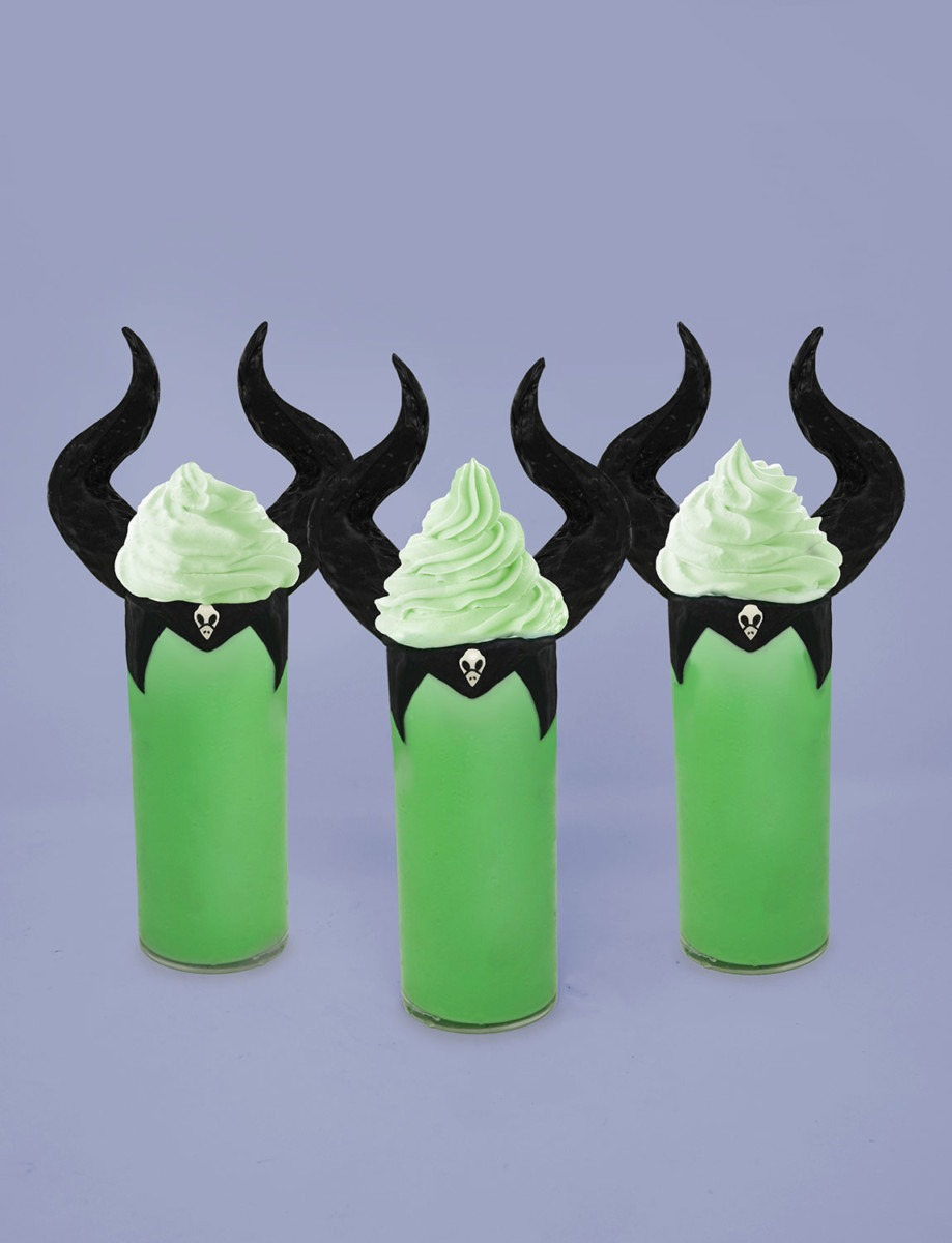 Chilling Maleficent Milkshakes! Perfect for Halloween! 1