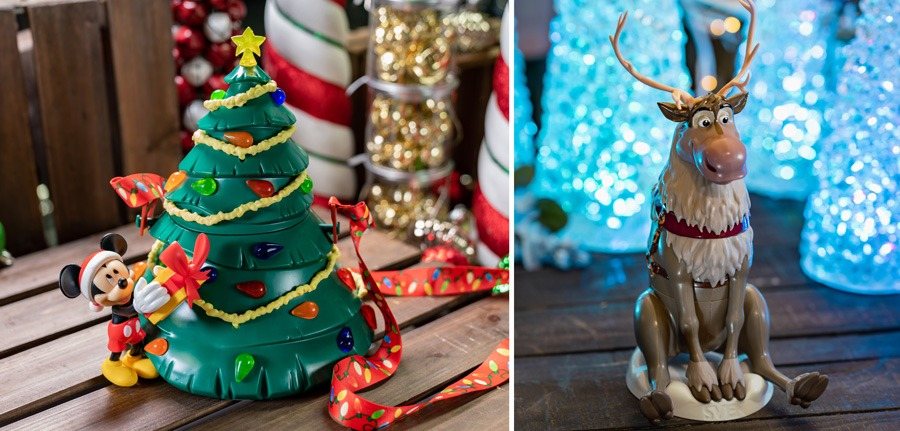 Party-Exclusive Holiday Novelties for Mickey's Very Merry Christmas Party at Magic Kingdom Park