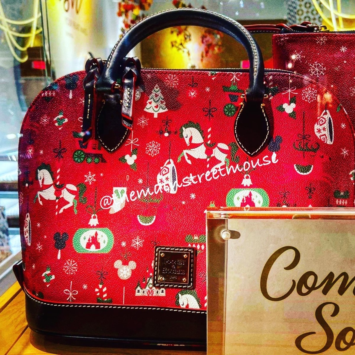 The Holiday Disney Dooney & Bourke Bags are Available Friday! 2