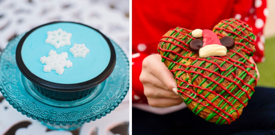 Desserts from Mickey's Very Merry Christmas Party at Magic Kingdom Park