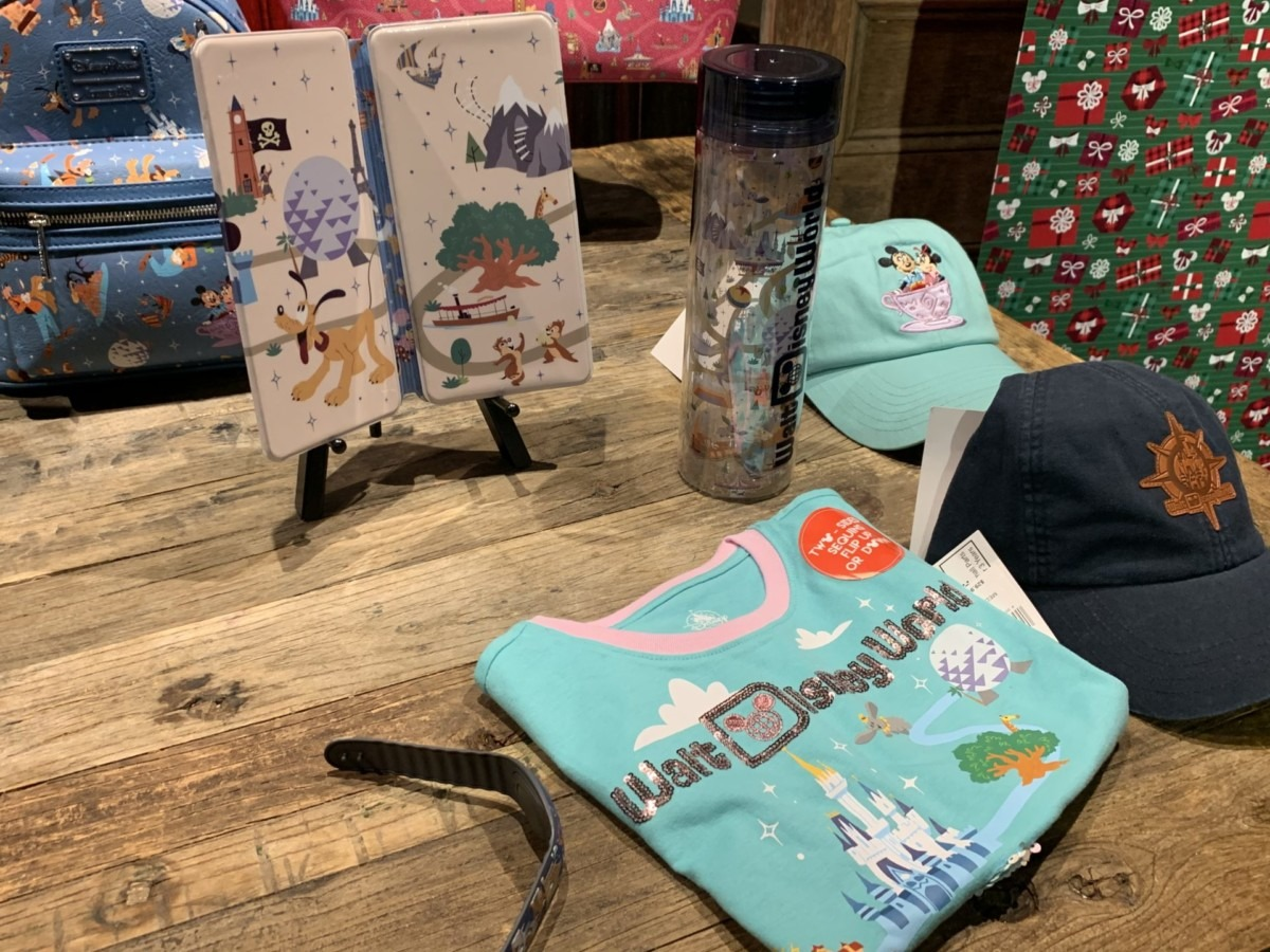 Sneak Preview of Upcoming Disney Merch! #disneyspringsholidays 2