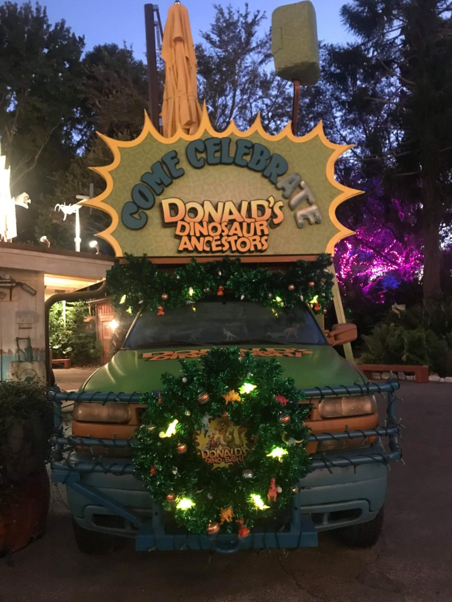 Christmas Pics from Animal Kingdom! #disneyholidays 7