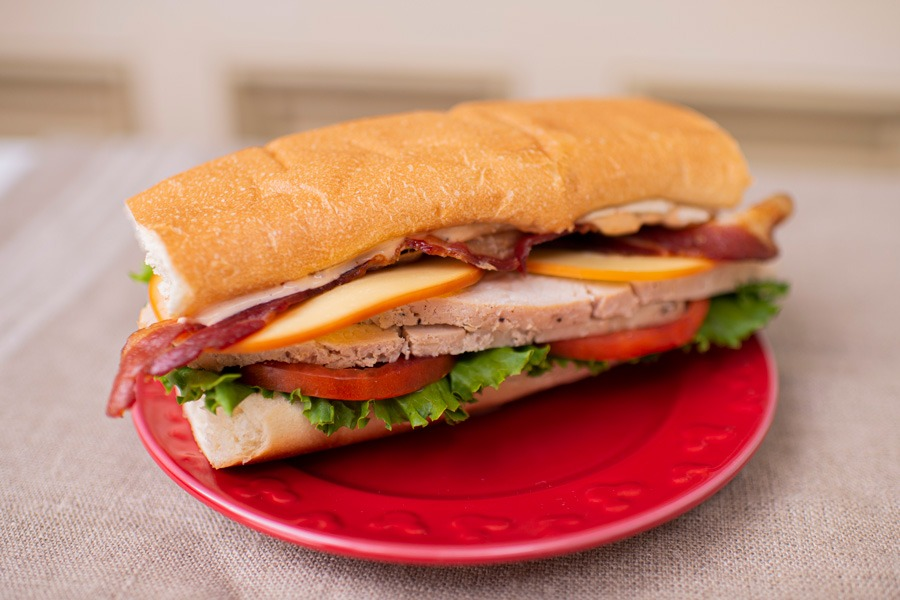 Carved Turkey Sandwich from Cosmic Ray's Starlight Café for Mickey's Very Merry Christmas Party at Magic Kingdom Park
