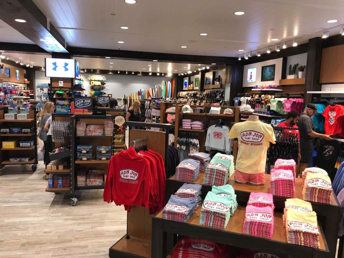 Photos of the New Ron Jon Surf Shop at Disney Springs 9
