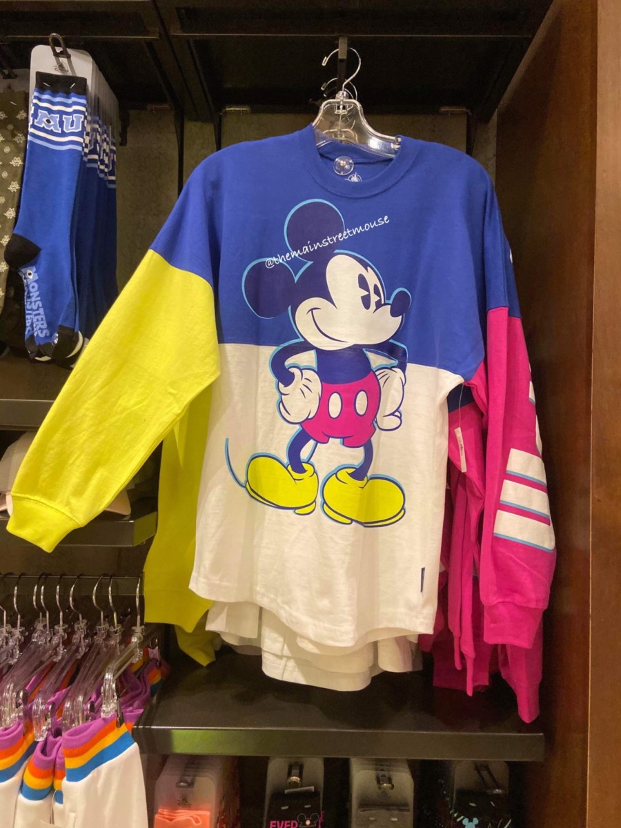 Colorful New Mickey and Minnie Spirit Jerseys! #disneystyle 5