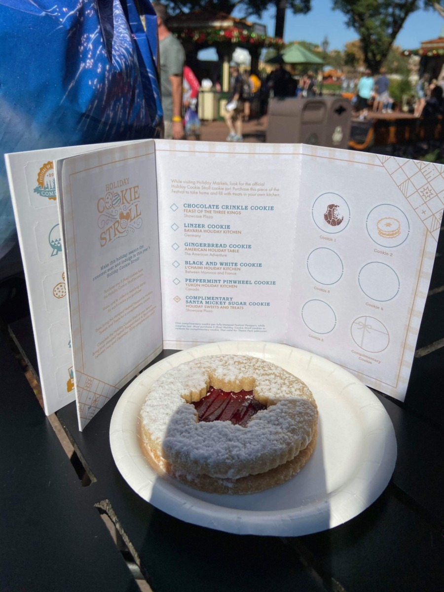 The Holiday Cookie Stroll at Epcot's International Festival of the Holidays! 6
