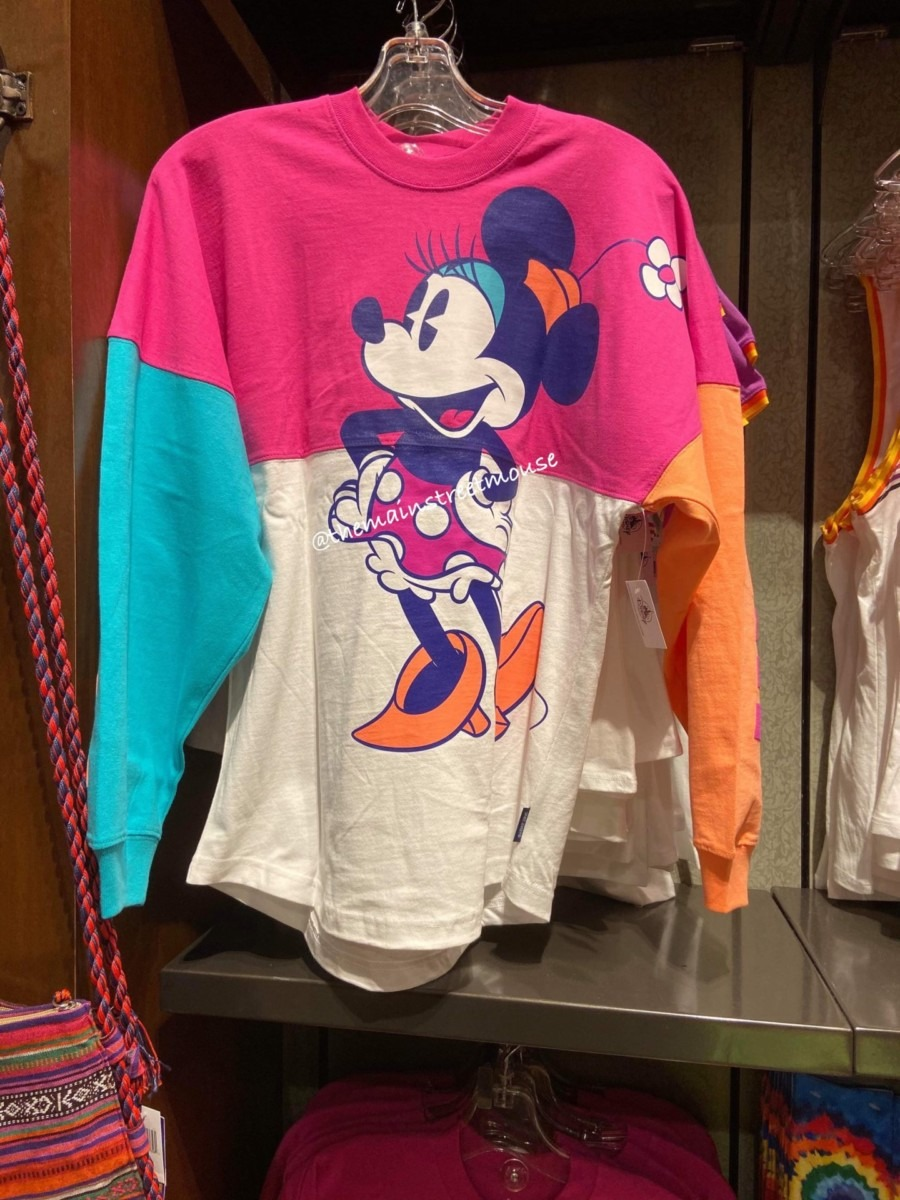 Colorful New Mickey and Minnie Spirit Jerseys! #disneystyle 3