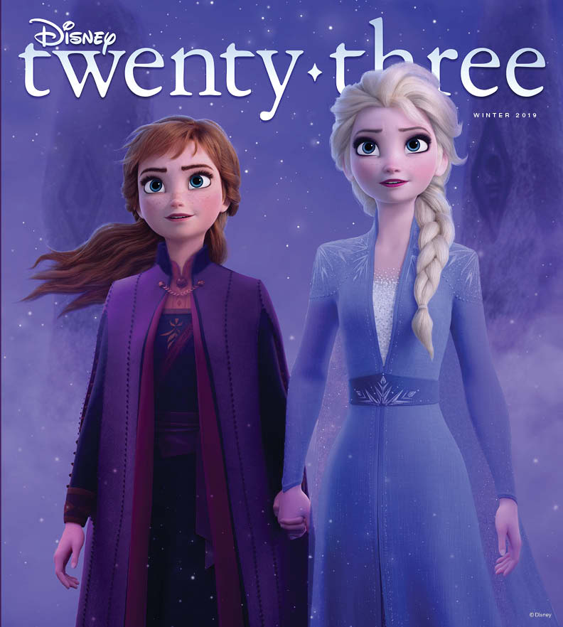 VENTURE INTO THE UNKNOWN WITH THE DISNEY TWENTY-THREE-EXCLUSIVE COVER OF FROZEN 2 1