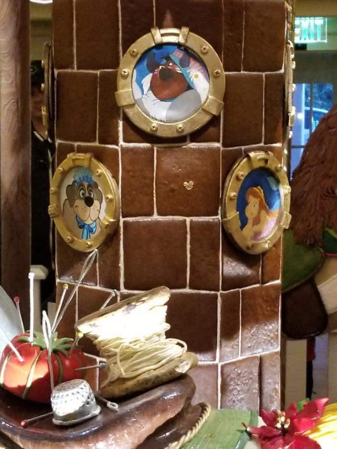 The Gingerbread Christmas Display at Disney's Beach Club Resort! 4
