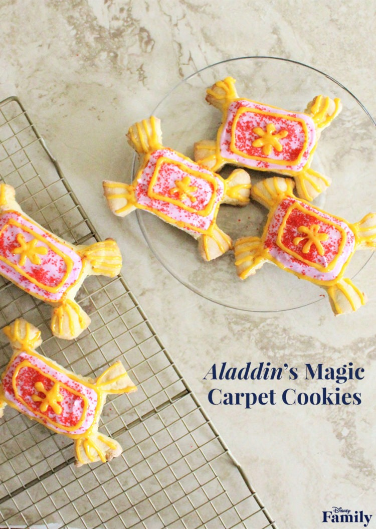 Make Your Own Magic Carpet Cookies! 1