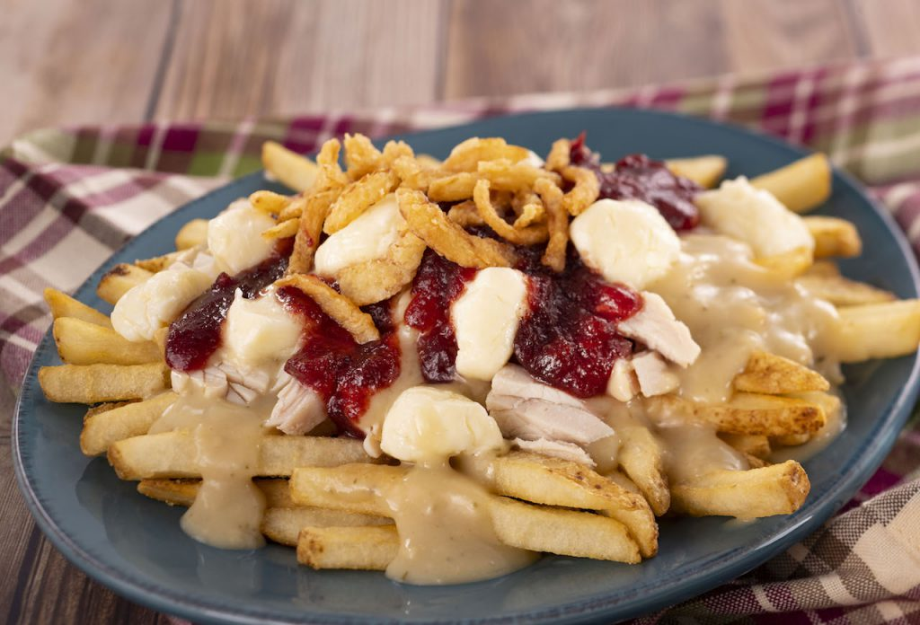 Turkey Poutine from Refreshment Port for the 2019 Epcot International Festival of the Holidays