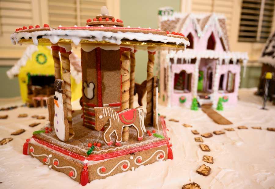 Gingerbread Display at Disney's Saratoga Springs Resort & Spa