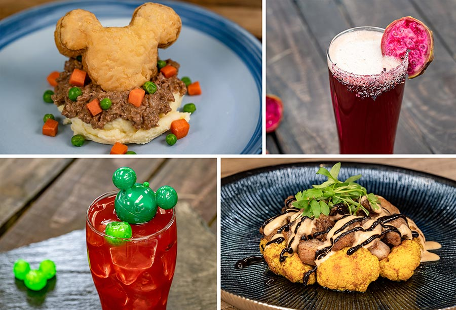 Grandma's Recipes Marketplace Offerings for Disney Festival of Holidays at Disney California Adventure Park