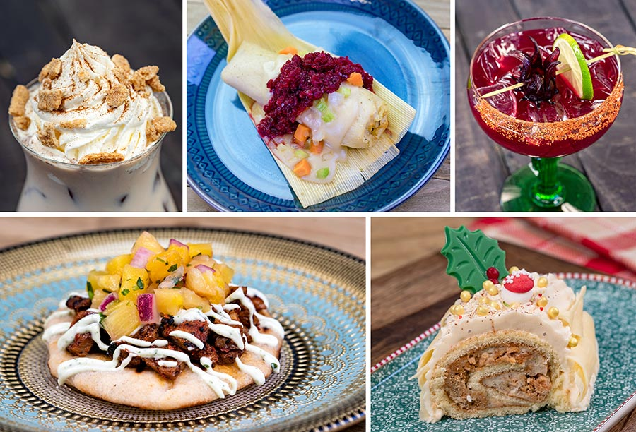 Merry Mashups Marketplace Offerings for Disney Festival of Holidays at Disney California Adventure Park