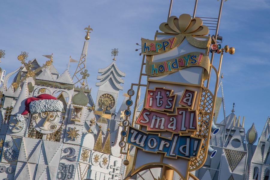 'it's a small world' Holiday at Disneyland park